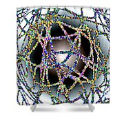 Tangled Web Shower Curtain