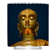 Tangsai Buddha Shower Curtain