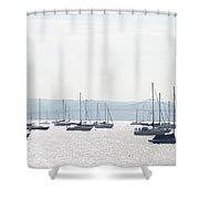 Tappan Zee Bridge - Nyack New York Shower Curtain