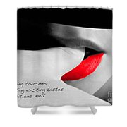 Taste Haiku Shower Curtain