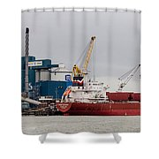 Tate And Lyle Silvertown Shower Curtain