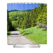 Tatra Mountains In Poland Shower Curtain