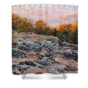Taum Sauk Mountain Glade I Shower Curtain
