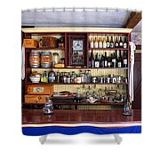 Tavern Civil War Era Shower Curtain by Dave Mills