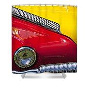 Taxi De Soto Shower Curtain