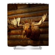 Taxidermy - The Hunting Lodge  Shower Curtain