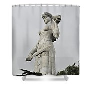Tbilisi Mother Of Georgia Statue Shower Curtain