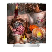 Tea Party - I Would Love To Have Some Tea  Shower Curtain