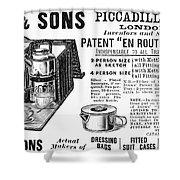 Tea Service, 1898 Shower Curtain