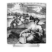 Tea: Treatise, 1687 Shower Curtain