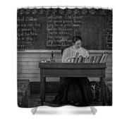 Teachers Rules  Shower Curtain