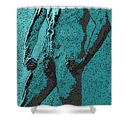 Teal Appeal Shower Curtain