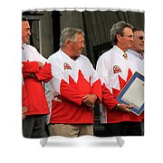 Team Canada 1 Shower Curtain