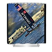Team Oracle On The Bay Shower Curtain