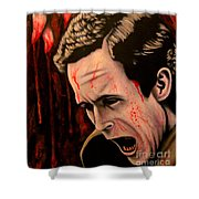 Ted Bundy Shower Curtain