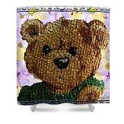 Ted E. Bear Shower Curtain