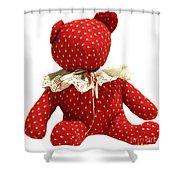 Teddy Bear Of Love Shower Curtain