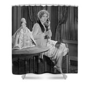 Telephone Call, 1920s Shower Curtain