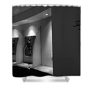 Telephones On Wall Shower Curtain
