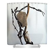 Tell Me About It Shower Curtain