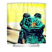 Tell Me About Yourself Shower Curtain