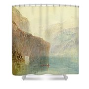 Tell's Chapel - Lake Lucerne Shower Curtain
