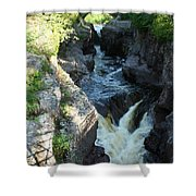 Temperance River 3 Shower Curtain