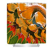 Temperatures Rising Shower Curtain