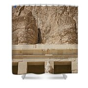 Temple Of Hatshepsut Shower Curtain