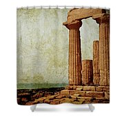 Temple Of Juno Shower Curtain