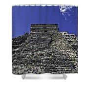 Temple Of Kukulkan Three Shower Curtain