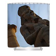Temple Of Luxor Ramses Ll Shower Curtain
