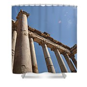 Temple Of Saturn Shower Curtain