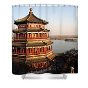 Temple Of The Fragrant Buddha Shower Curtain