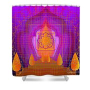Temple Of The Inner Flame 2012 Shower Curtain