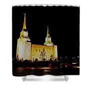Temple Of The Later Day Saints Shower Curtain