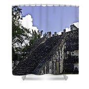 Temple Of The Warriors Three Shower Curtain