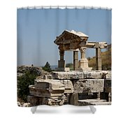 Temple Ruin - Ephesus Shower Curtain