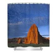 Temples Of The Sun And Moon Shower Curtain by Tim Fitzharris