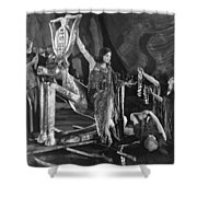 Ten Commandments, 1923 Shower Curtain