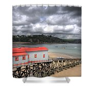 Tenby Lifeboat House Shower Curtain