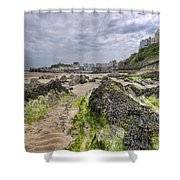 Tenby Rocks 2 Shower Curtain