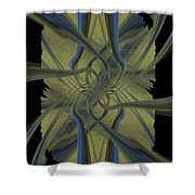 Tendrils Shower Curtain