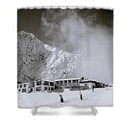 Tengboche Monastery Shower Curtain