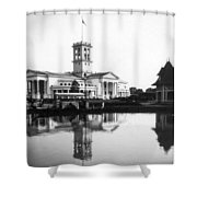 Tennessee Centennial - Nashville - Auditorium - C 1897 Shower Curtain by International  Images