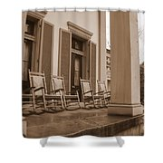 Tennessee Plantation Porch Shower Curtain
