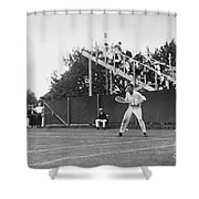 Tennis Player, C1920 Shower Curtain