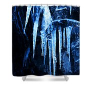 Tentacles Of Ice Shower Curtain