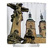 Tepla Monastery - Czech Republic Shower Curtain
