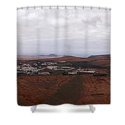 Tequise From Guanapay Castle  Shower Curtain